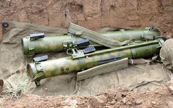 Загострення в зоні АТО: у бойовиків відбили зразок російського озброєння