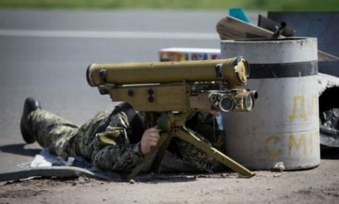Бойовики обстріляли сили АТО з ПТУРа, є поранені