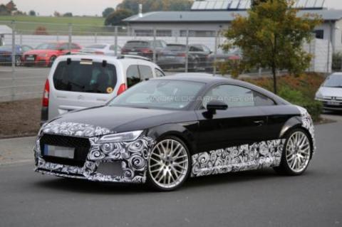 Audi TT-RS Coupe проходить тести у власному кузові (18 фото) (18)