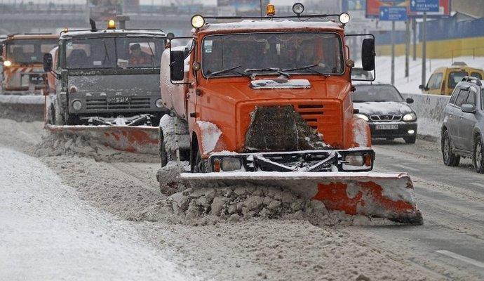 Киевские предприятия будут оштрафованы за неуборку снега