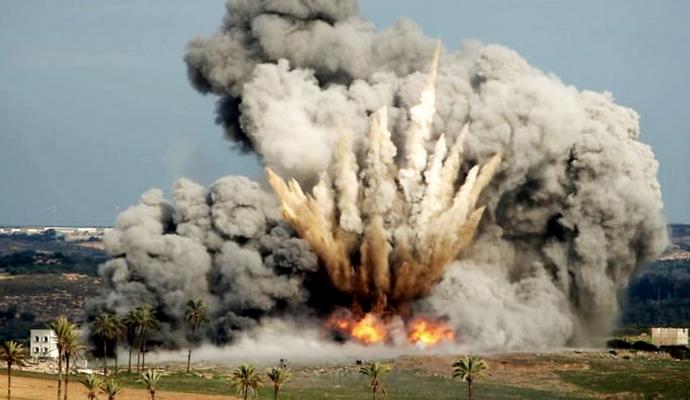 В Сирии погибло уже по меньшей мере 76 человек от авиаударов