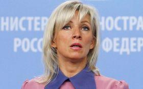 Це Росія захищає Європу від варварства і агресії, а не Україна: Захарова цинічно відповіла на слова Порошенка