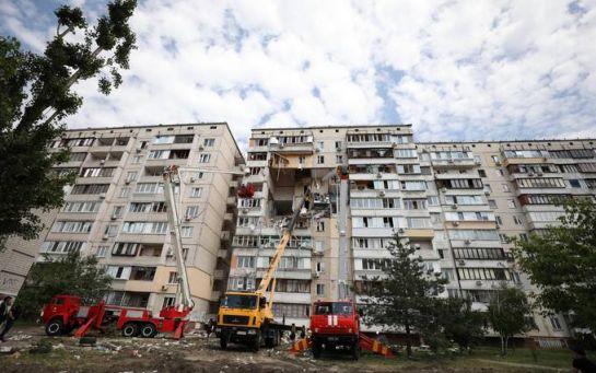 Дом придется сносить - стало известно об угрозе обвала многоэтажки в Киеве после взрыва