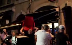 Опубліковане відео масових бійок фанатів і поліції на Євро-2016