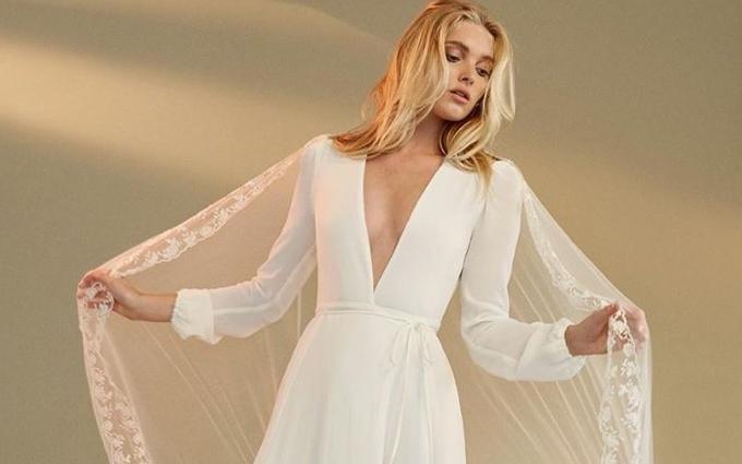 Ангел Victoria's Secret представила нову колекцію весільних еко-суконь: опубліковані фото
