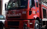Велика пожежа охопила ринок у Тбілісі