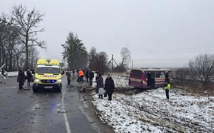 Появилось видео с места аварии, в которой погиб экс-депутат от Партии регионов