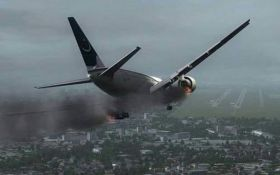 Ніхто не вижив - з'явилися моторошні відео з місця падіння пасажирського літака в Пакистані