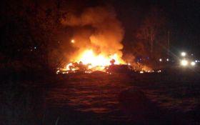 В Кременчуге разбился вертолет, есть жертвы: опубликовано видео