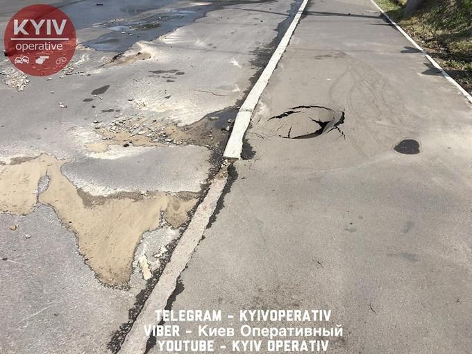На проспекте Правды в Киеве произошло крупное ЧП: появились фото и видео (4)