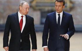 Макрон сделал громкое заявление о санкциях против России по итогам переговоров с Путиным