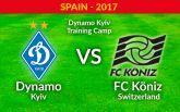Динамо Киев - Кениц - 0-0: Видео матча