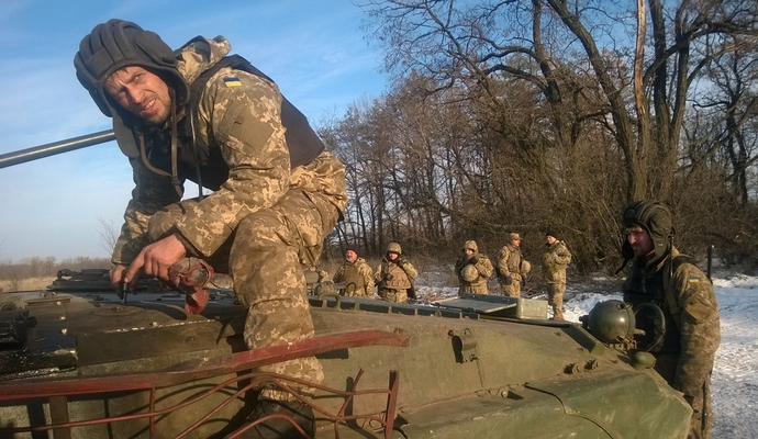 В зоне АТО провели инструкторско-методическое занятие с командирами подразделений (9 фото)
