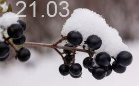 Прогноз погоди в Україні на 21 березня