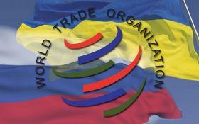 Украина в третий раз подала иск против России в ВТО