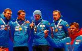 На чемпионате мира по биатлону оконфузились с российским гимном: опубликовано видео