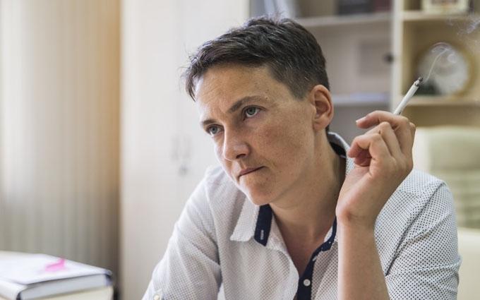 Савченко в пух и прах разругала выборы на Донбассе
