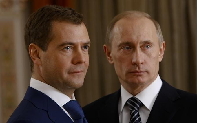 У мережі з'явився жарт про Путіна, Медведєва і Крим