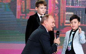Российский ребенок после общения с Путиным высказал странное желание