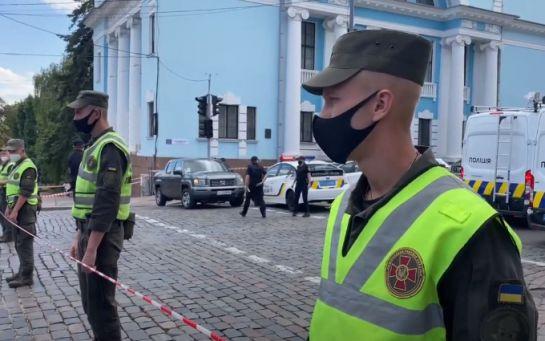Захоплення київського банку - МВС розкрило перші вимоги терориста