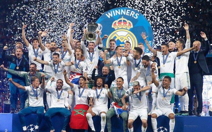 """""""Реал"""" привіз Кубок Ліги чемпіонів 2018 у Мадрид: опубліковано відео (1)"""