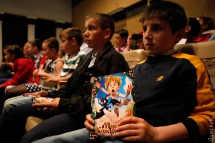 Український 3D мультфільм представили в Одесі: опубліковані фото і відео (3)