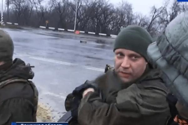 Главаря боевиков Захарченко увидели под Ясиноватой: опубликовано фото (1)