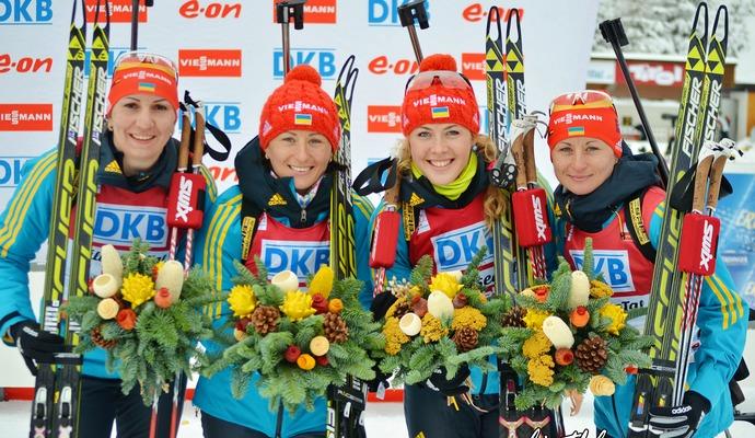 Українки отримали золотий Кубок світу з біатлону
