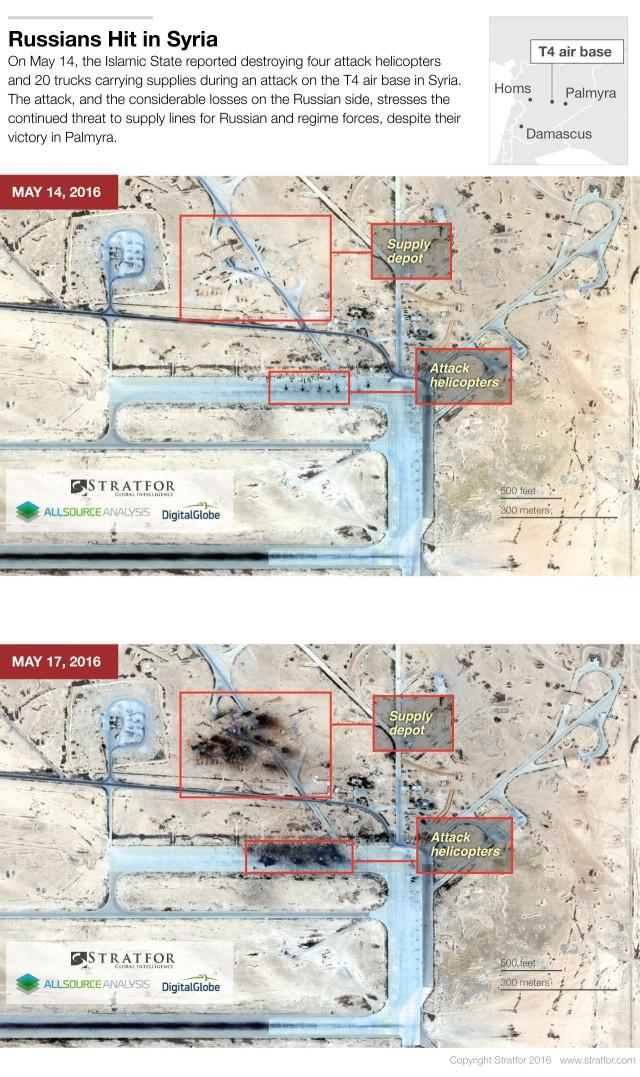 ІДІЛ знищив частину російської авіації в Сирії: фото з супутника (1)