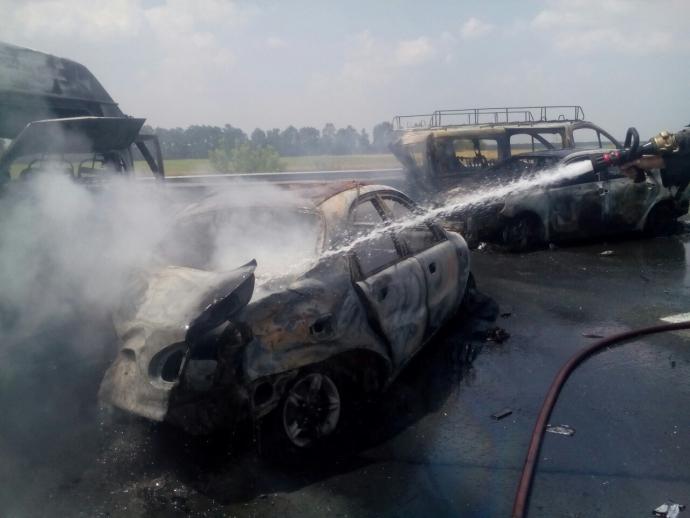 Опубліковані нові фото страшної аварії на трасі Київ-Одеса (1)