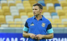 Шевченко назвал состав сборной Украины на июньские матчи