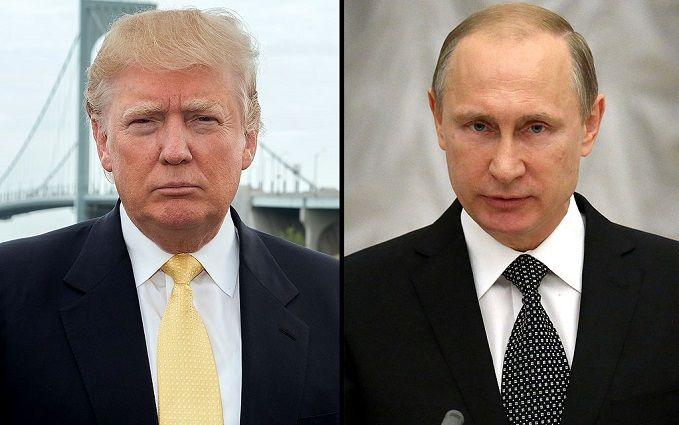 Стало відомо, про що говорили Путін і Трамп