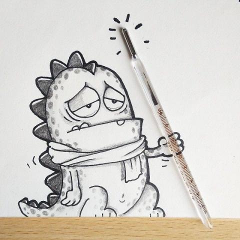 Оптимістичні і забавні малюнки (28 фото) (6)