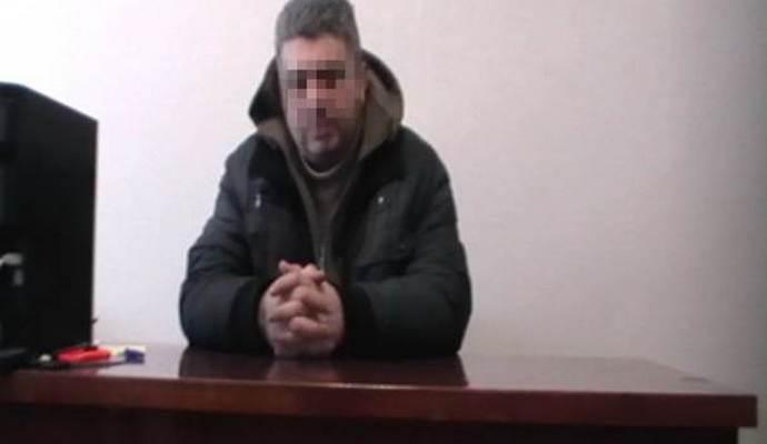 СБУ задержан диверсант и чиновник террористической организации ЛНР