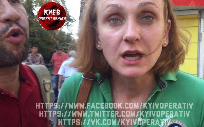 У Києві заслужений лікар влаштувала п'яне ДТП: з'явилися фото