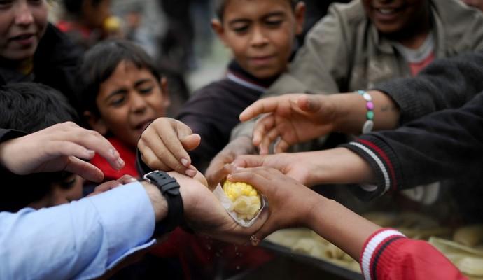В Сирии от голода умерло 16 человек