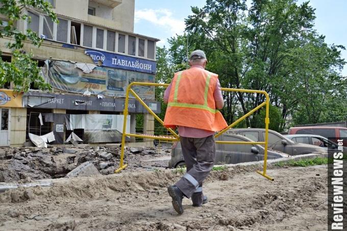 Масштабный прорыв трубы в Киеве произошел из-за испытаний коммунальщиков: опубликованы фото (3)
