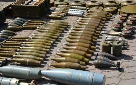 Под Донецком нашли скрытый арсенал оружия - часть его похитили еще из Крыма