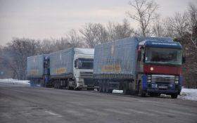 Стало відомо, який заборонений вантаж віз на Донбас гумконвой Ахметова