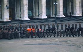Мережу вразило унікальне відео з похорону Сталіна, зняте для розвідки США