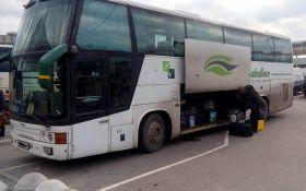 СБУ задержала автобусы, незаконно перевозившие жителей Донбасса в Украину