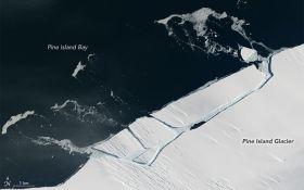 От ледника в Антарктике откололся огромный айсберг: появились впечатляющие фото