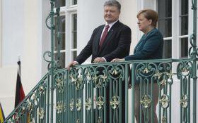 Порошенко розповів, про що домовився з Меркель у Берліні