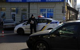 У Дніпрі патрульне авто збило літнього чоловіка: опубліковані фото і відео