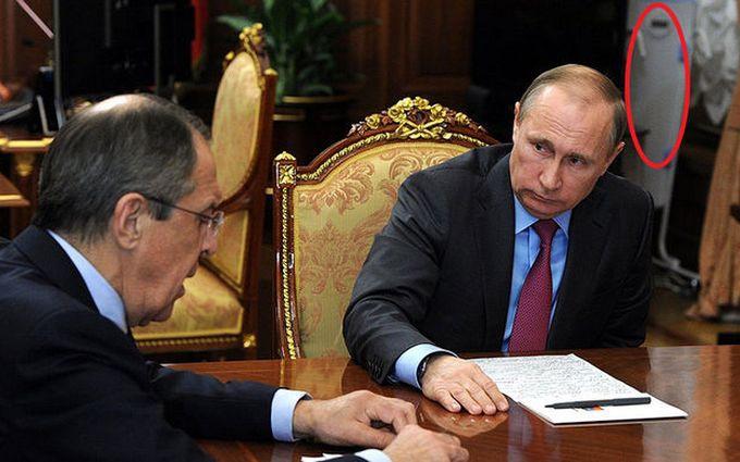 Скоро будет в шапочке из фольги: соцсети посмеялись над Путиным с облучателем