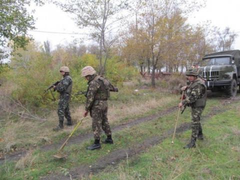 Міноборони: за тиждень в зоні АТО знищено близько 1,4 тис. вибухових предметів