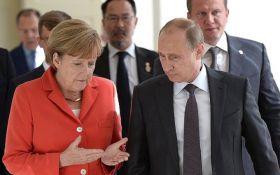 ЗМІ дізналися про основну мету зустрічі Путіна і Меркель