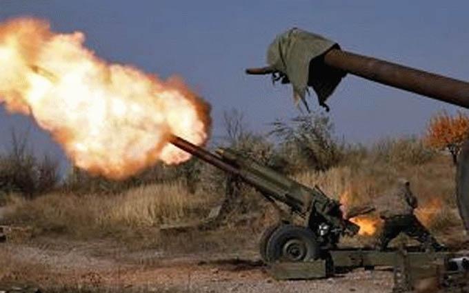 Бойовики атакують сили АТО найпотужнішим типом снарядів: опубліковано відео