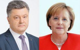 Зустріч Порошенка і Меркель: зроблені різкі заяви по Донбасу, з'явилося відео