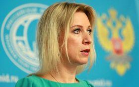 Крим тільки привід для санкцій: Захарова відзначилася черговою скандальною заявою